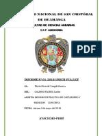 Informe 01 Cartaboneo y Medicion