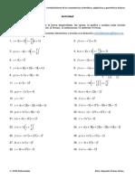 Actividad Funciones polinomicas