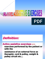 86962_Active Assisted Exercise