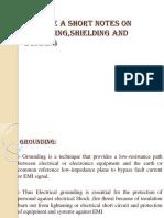 Grounding,Shelding,Bonding