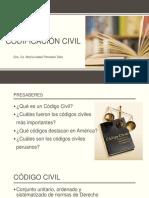 Codificación Civil Amer