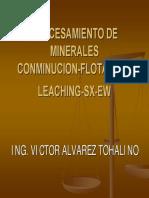 Curso Procesamiento Integral de Minerales de Cobre Modulo III