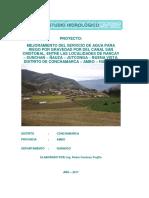 Estudio Hidrologico Ñausa 2017
