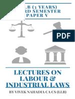 Labour Laws CA Vivek Nahadia