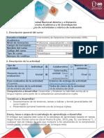 Guía de Actividades y Rúbrica de Evaluación - Task 1 - Recognition