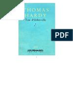 Thomas Hardy - Tess d'Urberville Vol.1