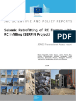 Seismic Retrofitting of RC Frames with RC Infilling (SERFIN Project)
