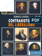 Contrahistoria Del Liberalismo - Domenico Losurdo
