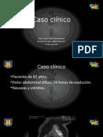 Obstrucción intestinal en asa cerrada, Radiología