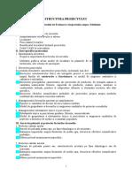 Structura Proiect MISP (RIM)