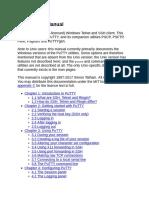 PuTTY User Manual.pdf