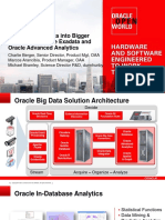 ORACLE - Open Word - Transform Big Data Into Bigger Insight