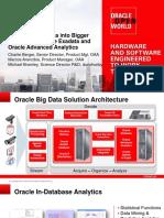 ORACLE - Open Word - Transform Big Data Into Bigger Insight