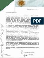 Carta Francisco