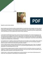 Biografía de Nelson Mandela
