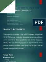 Acetone and IPA Design Presenation