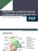 Analisis de La Proyeccion de La Demanda de Gas1