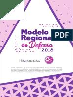 Modelo Regional de Defensa Acompañamiento e Incidencia para el Empoderamiento de las Mujeres
