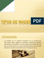 Tipos de Madera2