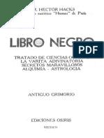 EL LIBRO NEGRO Tratado de Ciencias Ocultas_201811231605