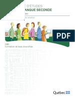 Prog Francais Langue Seconde FBD Fr