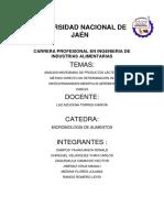 ANALISIS MICROBIANO DE PRODUCTOS LACTEOS METODO DIRECTO DE DETERMINSCION DE MICROORGANISMOS MESOFILOS AEROBIOS VIABLES.docx