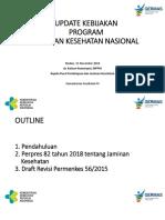Update Kebijakan Program JKN KIS - Pernas Medan - P2JK