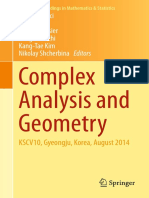 (Comprehensive Course in Analysis) Barry Simon-Advanced Complex Analysis_ a Comprehensive Course in Analysis, Part 2B-American Mathematical Society (2015)