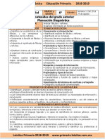Agosto - 1er Grado Inglés (2018-2019)