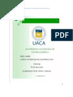 Informe Final Laboratorio Materiales Uac