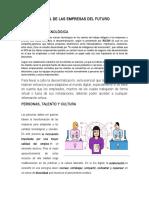 Perfil de Las Empresas Del Futuro