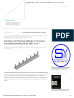 350963411 Mathcad Soil Supported Combined Footing