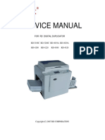 Service Manual RD-4300E,RD4320E,RD4220