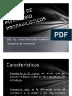 Modelos de Inventario Probabilísticos