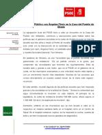 NP- Acto Público PSOE Úbeda Con Ángeles Férriz