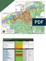 Eagle Creek closure map