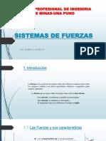 2. Sistemas de Fuerzas