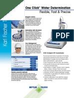 Brochure - KF Titrator - C30