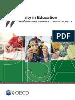 Equity in Education OCDE