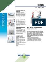 Brochure - Titrator - T50