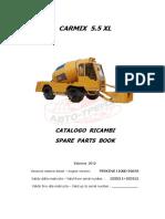 Parts Book 5,5XL