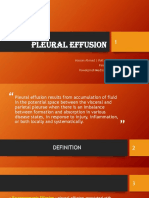 Pleural Effusion New