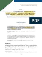 Chile Comentarios Preliminares Al Proyecto de Ley Destacado