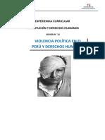 Modulo 12 Violencia Política en El Perú y Derechos Humanos
