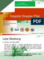 Hospital Disaster Plan Emergency Summit