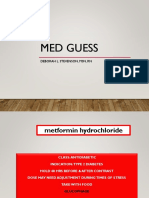 Med Guess Game