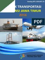 Statistik Transportasi Provinsi Jawa Timur 2016