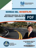 Contenidos Normas Del Invierte.pe 2da Edición 1