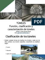 Tuneles 2 Unid. 1 Funcion, clasificacion y caracteristicas de tuneles (CLASE N°1) (1)