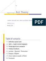 Speech Act Theory (Jarasch Jamai Guemuesh)